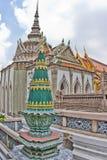 Templo da esmeralda Buddha, Banguecoque Imagem de Stock