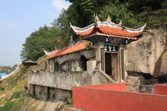 templo da espiga Shuang-GUI Fotos de Stock Royalty Free