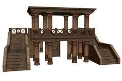Templo da fantasia Fotos de Stock