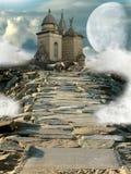 Templo da fantasia ilustração royalty free