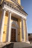 Templo da grande porta de Nikitsky da ascensão Moscovo, Rússia foto de stock royalty free