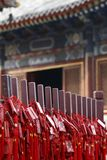 Templo da longa vida de Beijing Fotos de Stock Royalty Free