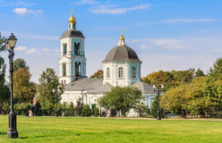 Templo da mãe da mola animador do deus Tsaritsyno Imagens de Stock Royalty Free