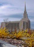 Templo da montanha de Oquirrh Imagem de Stock