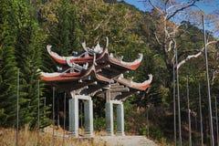 Templo da montanha Phan Thiet do Cu da Buda Ta do nirvana, Vietname Imagem de Stock
