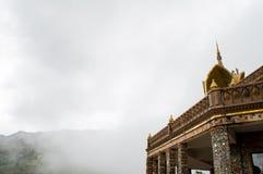 Templo da névoa Imagens de Stock Royalty Free