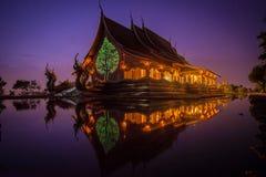 Templo da noite Imagens de Stock