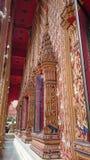 Templo da parede da arte Fotos de Stock