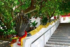 Templo da pegada de Budhha Foto de Stock