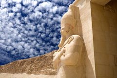 Templo da rainha Hatshepsut foto de stock royalty free