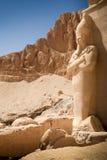 Templo da rainha Hatshepsut, Cisjordânia do Nilo, Egito imagens de stock