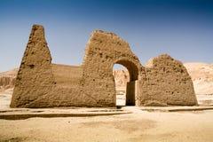 Templo da rainha Hatshepsut, Cisjordânia do Nilo, Egito imagem de stock