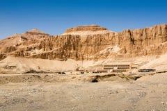 Templo da rainha Hatshepsut, Egito fotografia de stock royalty free