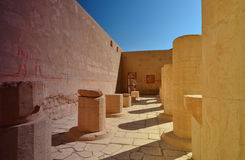 Templo da rainha Hatshepsut no EL-Bahri de Deir - templo de Hatsheps Fotos de Stock
