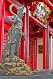Templo da relíquia do dente de Buddha Imagens de Stock