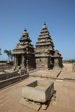 Templo da rocha no mahabalipuram foto de stock