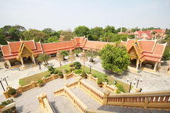 Templo da tanga de Pikul, Singburi Tailândia Foto de Stock