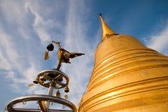 Templo da tanga do khao do plutônio, Banguecoque Thailnad Foto de Stock Royalty Free