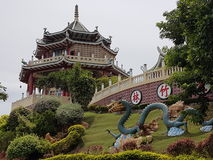 Templo da taoista, cidade de Cebu, Visayas, Filipinas Fotografia de Stock Royalty Free