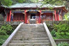 Templo da taoista na caverna de Xiangxi fotografia de stock royalty free