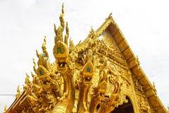 Templo da tonelada da bandeja do sri de Wat Imagem de Stock