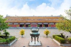 Templo das gerações na citadela, matiz - cidade imperial Foto de Stock Royalty Free