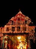 Templo das luzes imagem de stock royalty free