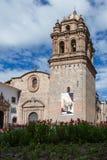 Templo de圣多明哥,库斯科秘鲁 免版税库存照片