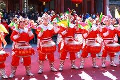 Templo de 2011 chinos justo Foto de archivo libre de regalías