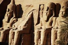 Templo de Abu Simbel Fotografia de Stock