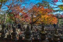Templo de Adashino Nenbutsu-ji, Tóquio Imagens de Stock