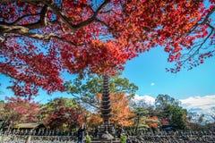 Templo de Adashino Nenbutsu-ji, Tóquio Fotos de Stock Royalty Free