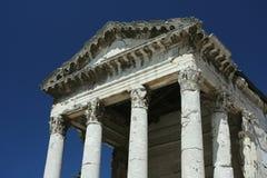 Templo de agosto imagen de archivo libre de regalías