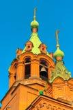 Templo de Alexander Nevsky Foto de archivo