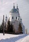 Templo de Alexander Nevsky A vila Schurala Região de Sverdlovsk Rússia Imagens de Stock