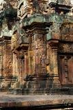 Templo de Angkor de Banteay Srei, Camboya Imagenes de archivo