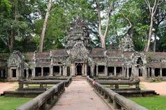 Templo de Angkor Thom Imagem de Stock