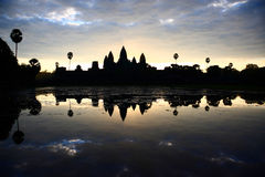 Templo de Angkor Wat Fotografía de archivo libre de regalías