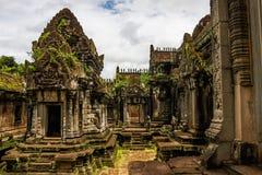 Templo de Angkor Wat fotografia de stock