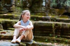 Templo de Angkor Wat Fotos de Stock Royalty Free