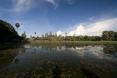 Templo de Angkor Wat Fotos de archivo libres de regalías