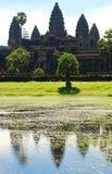 Templo de Angkor Wat cambodia Fotografia de Stock