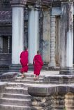 Templo de Angkor Wat em Cambodia Imagens de Stock Royalty Free
