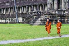 Templo de Angkor Wat en Camboya Imagen de archivo