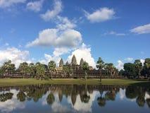 Templo de Angkor Wat fotos de archivo