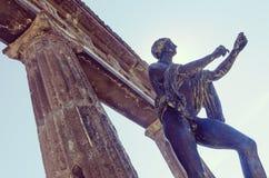 Templo de Apollo em Pompeia Foto de Stock Royalty Free