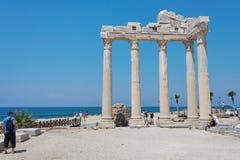 Templo de Apollo no lado, Turquia fotos de stock