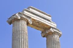 Templo de Apollon Imagem de Stock