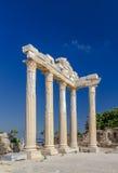 Templo de Apollon, lado, Turquia Imagem de Stock