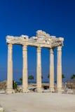 Templo de Apollon, lado, Turquia Imagens de Stock Royalty Free